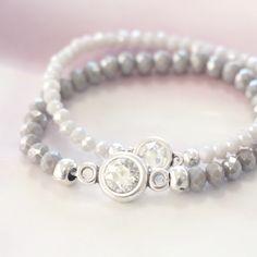 Werden Sie inspriert durch diese schöne Armbänder mit hippen Top Facett  Perlen!   Perlengroßhandelonline.de 7f42a4cbb3