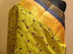 Bengal cotton saree with embroidery all over. For orders and inquiries, please mail us at naari@aninditacreations.com.  Like our page www.facebook.com/naari.aninditacreations