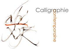 CALLIGRAPHIE LATINE CONTEMPORAINE dessins peinture écriture Calligraphie gestuelle, poésies proverbes devises calligraphiés, livres et couvertures de livre, Richard Lempereur