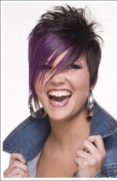 fun short hairstyles | ... Hairstyles, Spiky Bob Hairstyles, Emo Bob Hairstyles, Emo Swept Bob