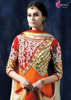 Indian Designer Gown Pakistani Party Wear Embroidered Bridal Dress Stitched