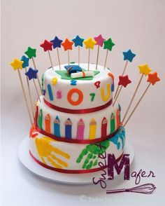 Teacher Birthday Cake, Teacher Cakes, Graduation Cake, Mini Cakes, Cupcake Cakes, School Cake, Beautiful Birthday Cakes, Occasion Cakes, Vegan Cake