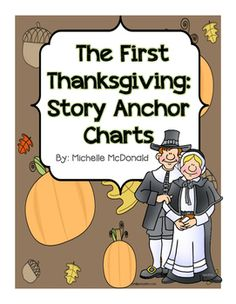 The First Thanksgiving Story Booklet & Anchor Chart Printable Posters