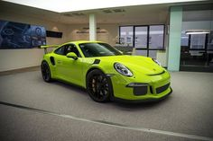 A stunning looking PTS birch green GT3 RS has just been delivered to its new owner!