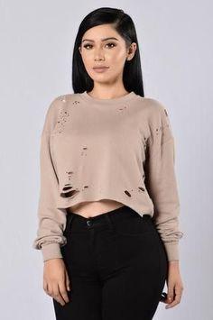 f01262528b4 BROOKLYN LASER CUT SWEATER. Jean Skirt OutfitsSweater ...