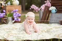 Baby girl, spring mini! ©Jessica Liane Photography