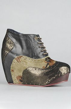 Irregular Choice  The What An Angel Shoe in Camouflage