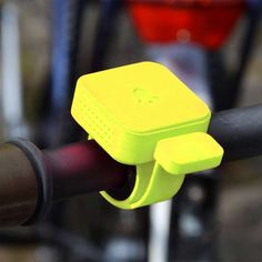 Set Your Bike Apart From the Rest with This Colorful #Bike Accessory trendhunter.com ...neon bike bell!