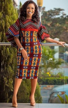 How to Look Classy Like Serwaa Amihere - 30+ Outfits in 2021 Latest African Fashion Dresses, African Print Dresses, African Dresses For Women, African Print Fashion, African Attire, African Prints, Ankara Fashion, African Fabric, African Women