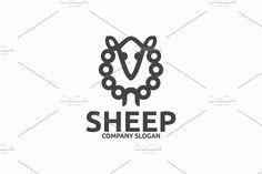 Sheep Templates by Brandlogo in Templates LogosLogo Template FeaturesAI and EPS (Illustrator 10 EPS) 300PPI CMYK by Brandlogo
