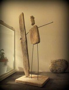 Mutoz inc. Art en bois flotté