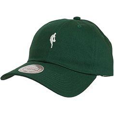Mitchell & Ness Snapback Cap Curved Little Dribbler NBA grün/weiß