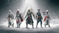 wallpaper five years of assassins creed, backgrounds five years of assassins creed