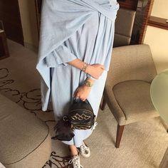 IG: Des_Farah974 || IG: Beautiifulinblack || Modern Abaya Fashion ||