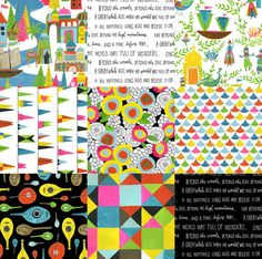Lisa Congdon Fabric Collection :: Now Available!