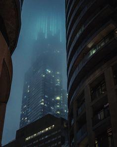 Snowy Cyberpunk Toronto - Album on Imgur