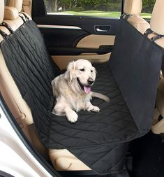 QUILTED PET DOG CAR REAR SEAT COVER PROTECTOR FOR MERCEDES A CLASS AMG