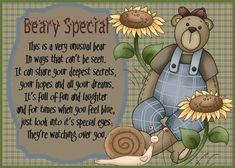 Give that someone close to you this cute card to let them know they're beary special. Free online Beary Special ecards on Friendship Cute Friendship Quotes, Bff Quotes, Friends Day, Cards For Friends, Miss You Cards, Card Sayings, Angel Cards, Wonder Quotes, Birthday Messages