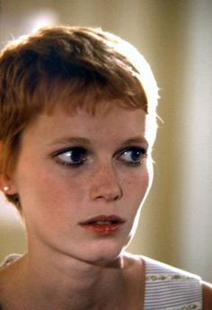 love Mia Farrow's look in Rosemary's Baby