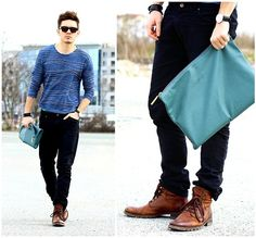 You can have sea - on your shirt! (by Peter C.) http://lookbook.nu/look/4718715-You-can-have-sea-on-your-shirt