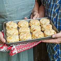 Cheddar and Herb Buttermilk Biscuits Recipe - Country Living