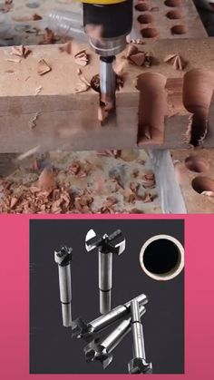 Woodworking Hole Saw Wood Cutter Drill Bit Woodworking For Kids, Woodworking Workshop, Woodworking Videos, Woodworking Projects, Dremel, Best Router Table, Apocalypse Now, Wood Cutter, Creative Inventions