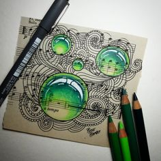"""169 Likes, 24 Comments - Rose Rambo (@vitruvian_art) on Instagram: """"Non-traditional paper challenge for my gem group on facebook. Really love how it came out!!…"""""""