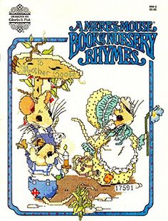 A Merry Mouse Book of Nursery Rhymes MM-2 by Author Unknown