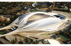 Zaha Hadid Wins Japan National Stadium Competition    We swooned when the Eli & Edythe Broad Museum was revealed in October. We feel the same way today, with news of Hadid's latest, greatest project.     The London-based architect has won a competition to design Japan's new National Stadium—future host venue for the 2019 Rugby World Cup. Selected by Tadao Ando and the Japan Sports Council, Hadid beat out heavyweight firm SANAA and Japanese architect Toyo Ito for the commission.     Finished…