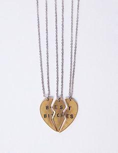 Best Bitches Necklaces  - Pixie Market