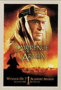 Lawrence of Arabia my favourite movie