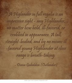 Favorite Outlander Quotes.  Outlander TV series on Starz.