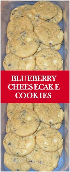 Blueberry Cheesecake Cookies – Fresh Family Recipes
