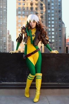 Amazing Rogue (X-Men) Cosplay by Monika Lee [Pic] | Geeks are Sexy Technology News