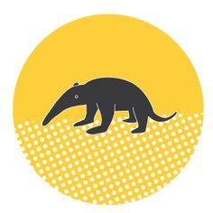 Carl the Anteater on Behance