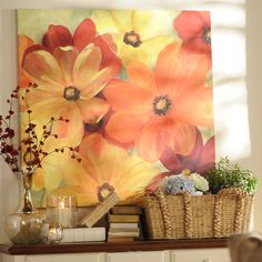 The beautiful Sunshine Splash Canvas Art piece is today's Deal of the Day! Today only purchase it for $30.00, compared to original price of $69.99. Offer valid 7/27 only.