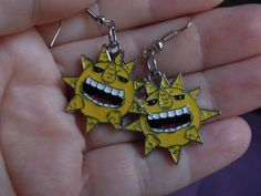 Soul Eater Sun Earrings Anime Earrings Anime by laminartz on Etsy, $6.00