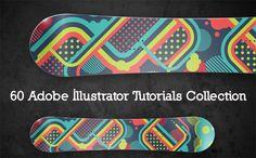 60 Adobe Illustrator Tutorials Collection | Splashnology