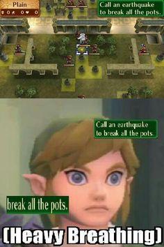 Link meets Fire Emblem