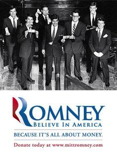Mitt $ Romney $ Mitt $ Money #romney #mitt