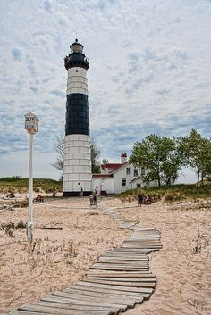 Big Sauble Lighthouse - Lake Michigan