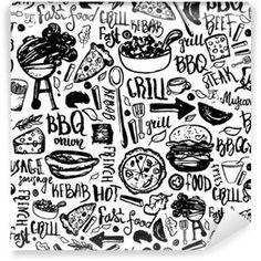 Image result for BBQ restaurant murals