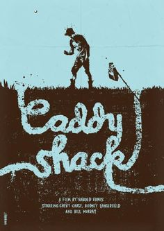 Minimalist Movie Poster: Caddyshack by daniel norris