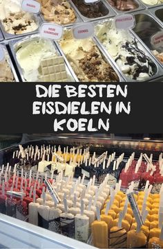 Are you looking for the best ice cream in Cologne? Here you will definitely be five . - Are you looking for the best ice cream in Cologne? You will definitely find it here. Best Ice Cream, Vegan Ice Cream, Malaga, Easy Homemade Burgers, Beste Burger, Easy Holiday Desserts, Cookie Swap, Chocolate Bark, Easter Activities