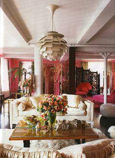 Betsey Johnson Living Room