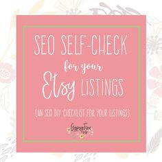 Etsy SEO Guide  SEO Checklist  Instant Download  Etsy Shop