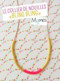 collier de nouille bling bling
