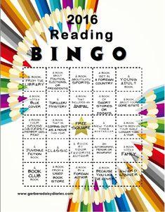 Gerbera Daisy Diaries: 2016 Reading Bingo!