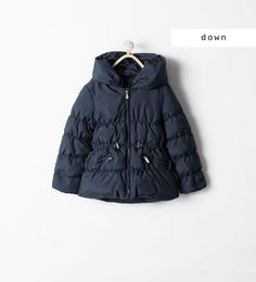 WRAPAROUND QUILTED COAT WITH HOOD