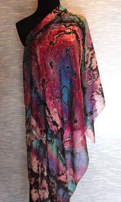 Carter Smith Shibori Dyed Scarf